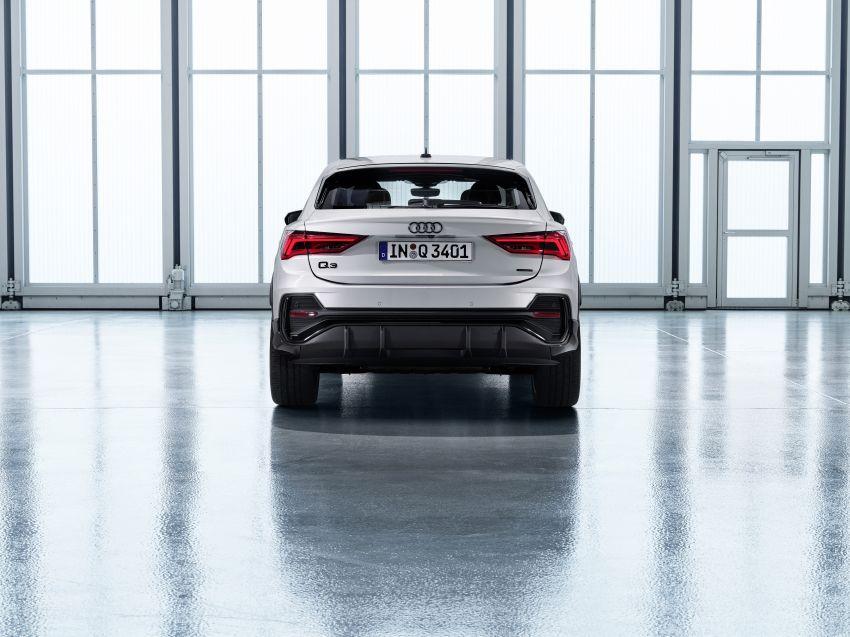 "Audi Q3 Sportback diperkenalkan – pilihan bagi SUV ""coupe"", 2.0L pengecas turbo janaan petrol dan diesel Image #992045"