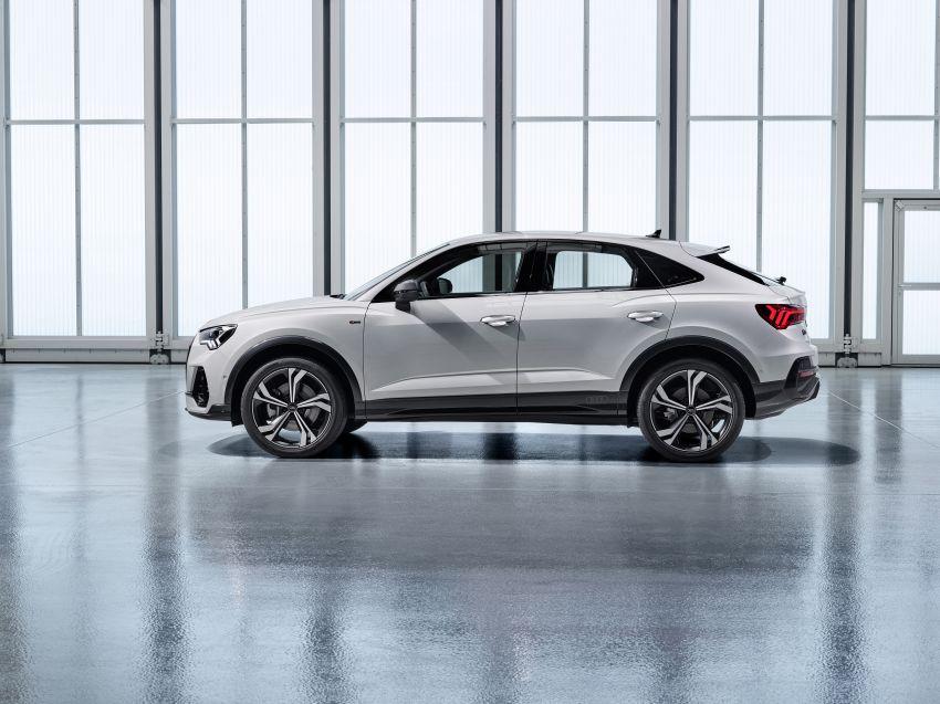 "Audi Q3 Sportback diperkenalkan – pilihan bagi SUV ""coupe"", 2.0L pengecas turbo janaan petrol dan diesel Image #992046"