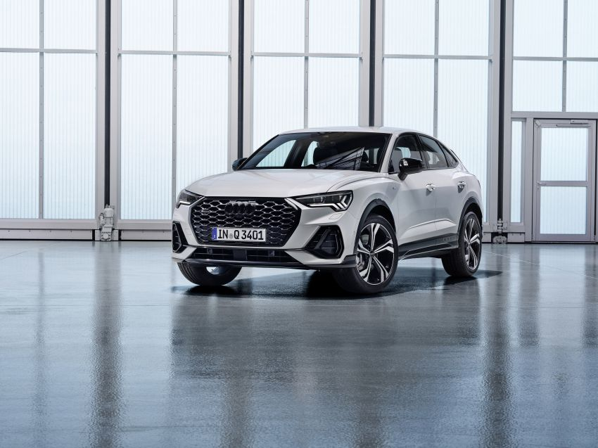 "Audi Q3 Sportback diperkenalkan – pilihan bagi SUV ""coupe"", 2.0L pengecas turbo janaan petrol dan diesel Image #992050"
