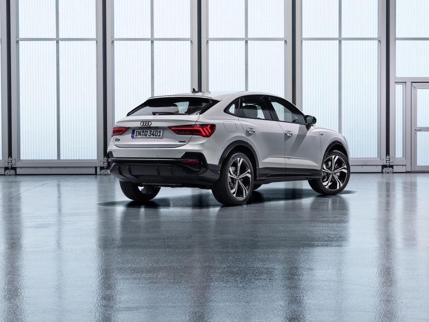 "Audi Q3 Sportback diperkenalkan – pilihan bagi SUV ""coupe"", 2.0L pengecas turbo janaan petrol dan diesel Image #992052"