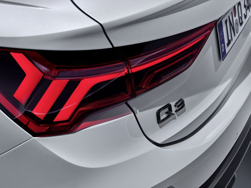 "Audi Q3 Sportback diperkenalkan – pilihan bagi SUV ""coupe"", 2.0L pengecas turbo janaan petrol dan diesel Image #992033"