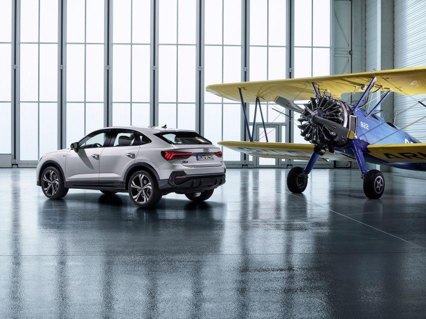 "Audi Q3 Sportback diperkenalkan – pilihan bagi SUV ""coupe"", 2.0L pengecas turbo janaan petrol dan diesel Image #992053"