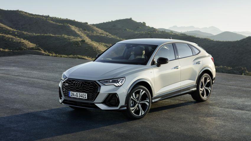 "Audi Q3 Sportback diperkenalkan – pilihan bagi SUV ""coupe"", 2.0L pengecas turbo janaan petrol dan diesel Image #992055"