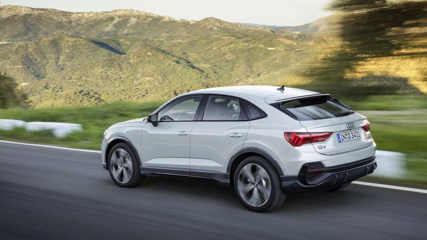 "Audi Q3 Sportback diperkenalkan – pilihan bagi SUV ""coupe"", 2.0L pengecas turbo janaan petrol dan diesel Image #992056"