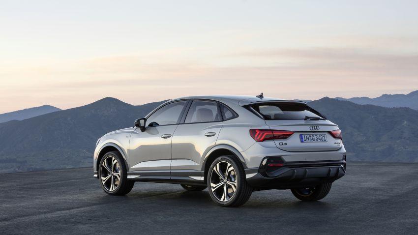 "Audi Q3 Sportback diperkenalkan – pilihan bagi SUV ""coupe"", 2.0L pengecas turbo janaan petrol dan diesel Image #992058"