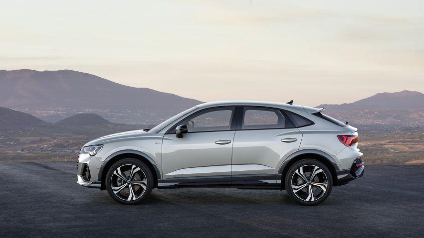 "Audi Q3 Sportback diperkenalkan – pilihan bagi SUV ""coupe"", 2.0L pengecas turbo janaan petrol dan diesel Image #992059"
