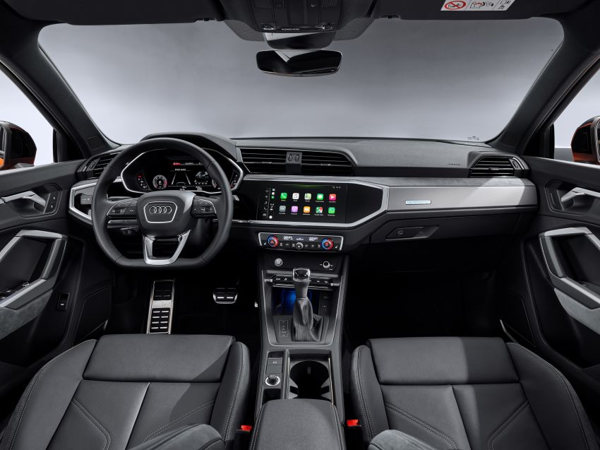 "Audi Q3 Sportback diperkenalkan – pilihan bagi SUV ""coupe"", 2.0L pengecas turbo janaan petrol dan diesel Image #992060"