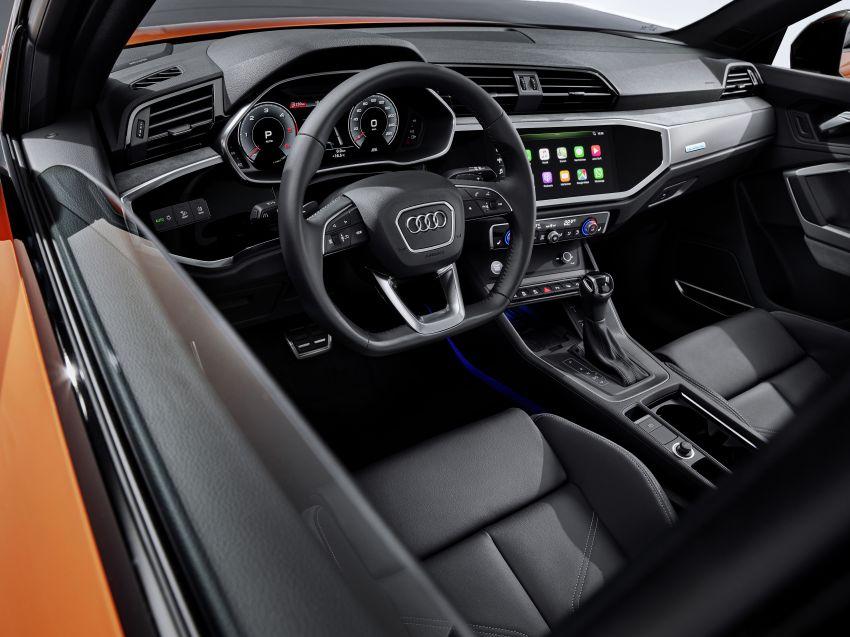 "Audi Q3 Sportback diperkenalkan – pilihan bagi SUV ""coupe"", 2.0L pengecas turbo janaan petrol dan diesel Image #992061"
