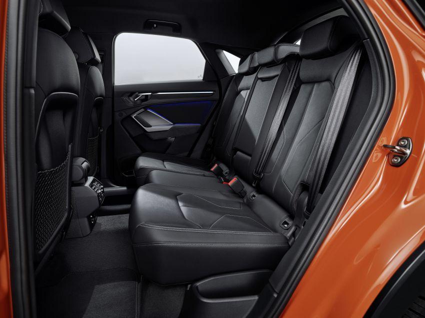 "Audi Q3 Sportback diperkenalkan – pilihan bagi SUV ""coupe"", 2.0L pengecas turbo janaan petrol dan diesel Image #992063"