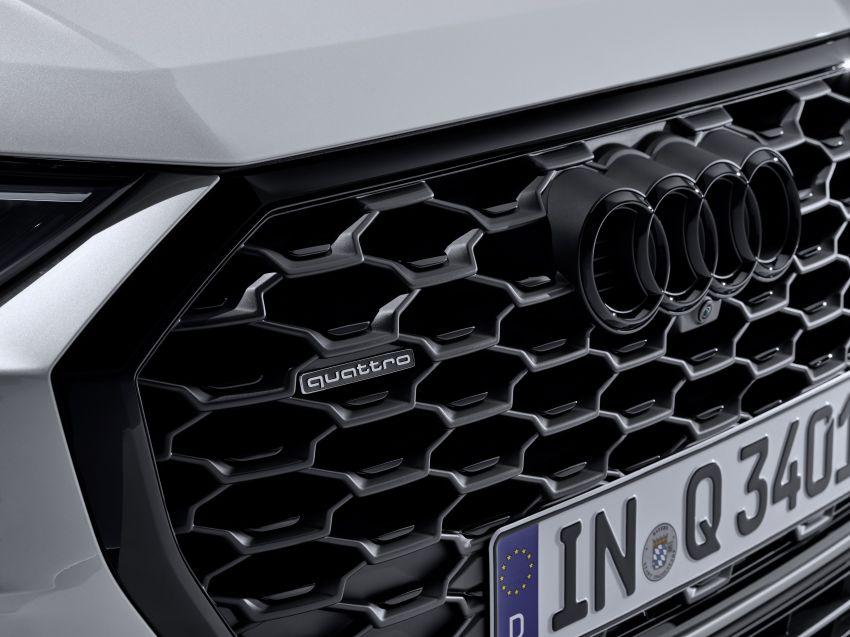 "Audi Q3 Sportback diperkenalkan – pilihan bagi SUV ""coupe"", 2.0L pengecas turbo janaan petrol dan diesel Image #992034"