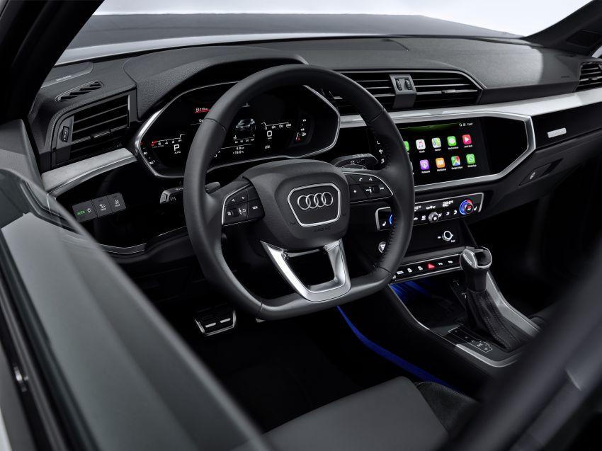 "Audi Q3 Sportback diperkenalkan – pilihan bagi SUV ""coupe"", 2.0L pengecas turbo janaan petrol dan diesel Image #992067"