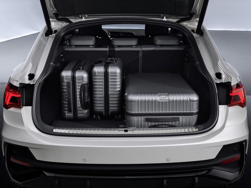 "Audi Q3 Sportback diperkenalkan – pilihan bagi SUV ""coupe"", 2.0L pengecas turbo janaan petrol dan diesel Image #992071"