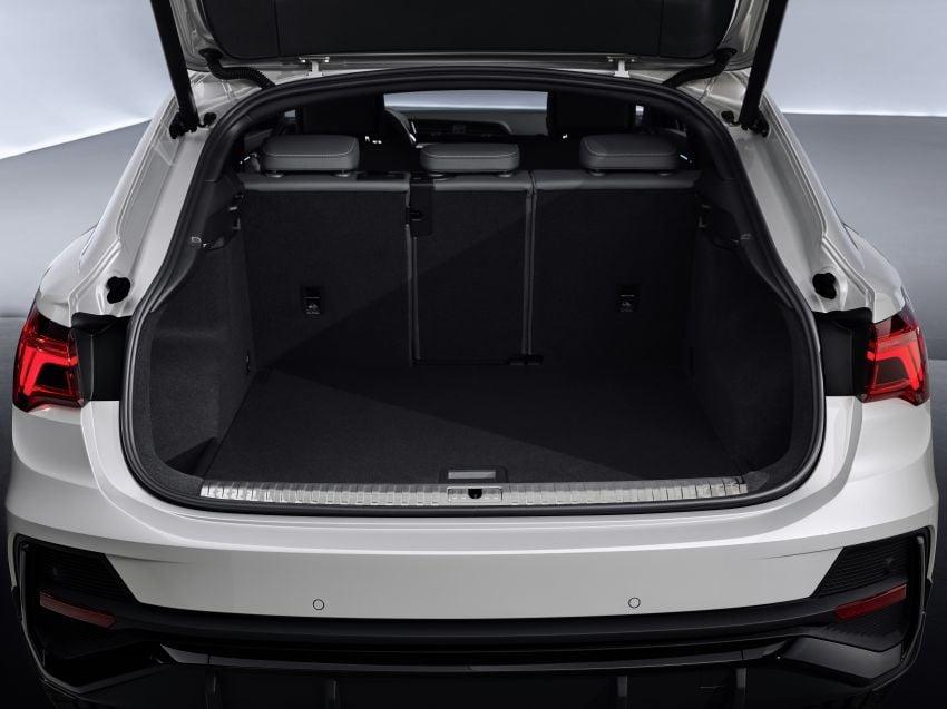 "Audi Q3 Sportback diperkenalkan – pilihan bagi SUV ""coupe"", 2.0L pengecas turbo janaan petrol dan diesel Image #992072"