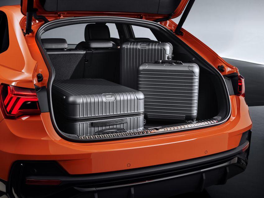 "Audi Q3 Sportback diperkenalkan – pilihan bagi SUV ""coupe"", 2.0L pengecas turbo janaan petrol dan diesel Image #992073"