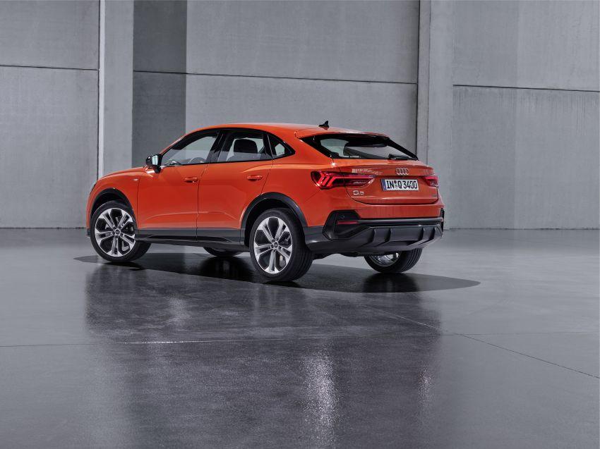 "Audi Q3 Sportback diperkenalkan – pilihan bagi SUV ""coupe"", 2.0L pengecas turbo janaan petrol dan diesel Image #992075"