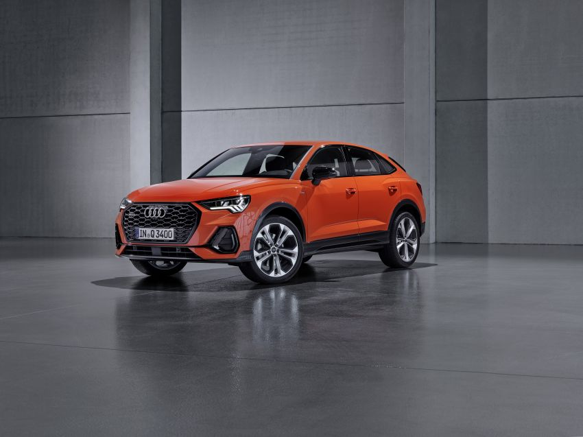 "Audi Q3 Sportback diperkenalkan – pilihan bagi SUV ""coupe"", 2.0L pengecas turbo janaan petrol dan diesel Image #992076"
