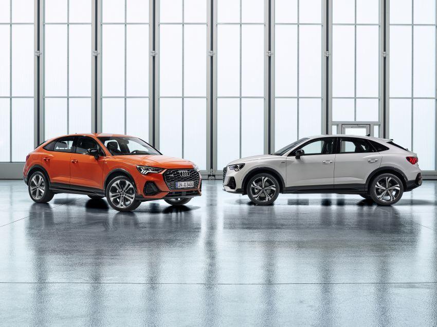 "Audi Q3 Sportback diperkenalkan – pilihan bagi SUV ""coupe"", 2.0L pengecas turbo janaan petrol dan diesel Image #992077"