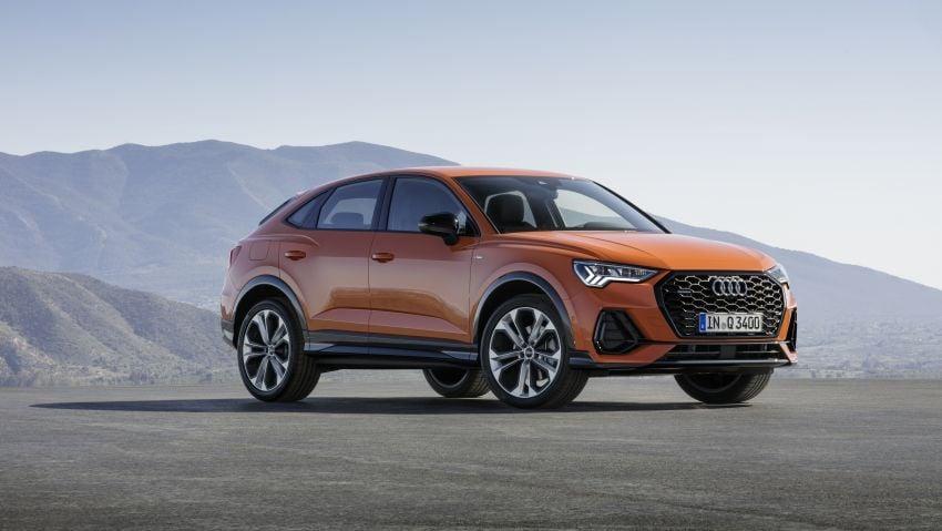 "Audi Q3 Sportback diperkenalkan – pilihan bagi SUV ""coupe"", 2.0L pengecas turbo janaan petrol dan diesel Image #992078"