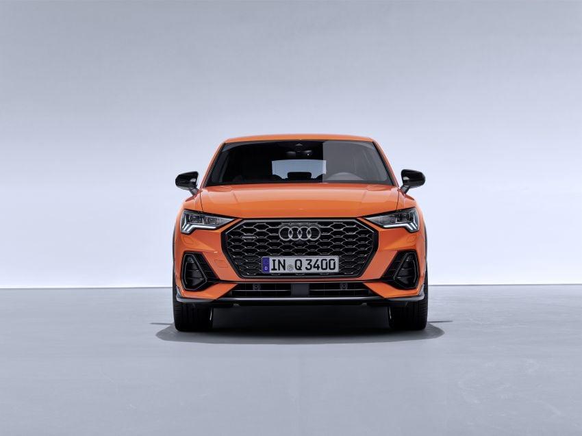 "Audi Q3 Sportback diperkenalkan – pilihan bagi SUV ""coupe"", 2.0L pengecas turbo janaan petrol dan diesel Image #992079"