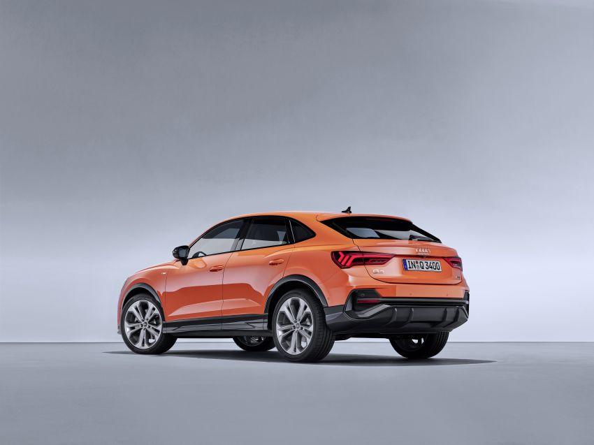 "Audi Q3 Sportback diperkenalkan – pilihan bagi SUV ""coupe"", 2.0L pengecas turbo janaan petrol dan diesel Image #992080"