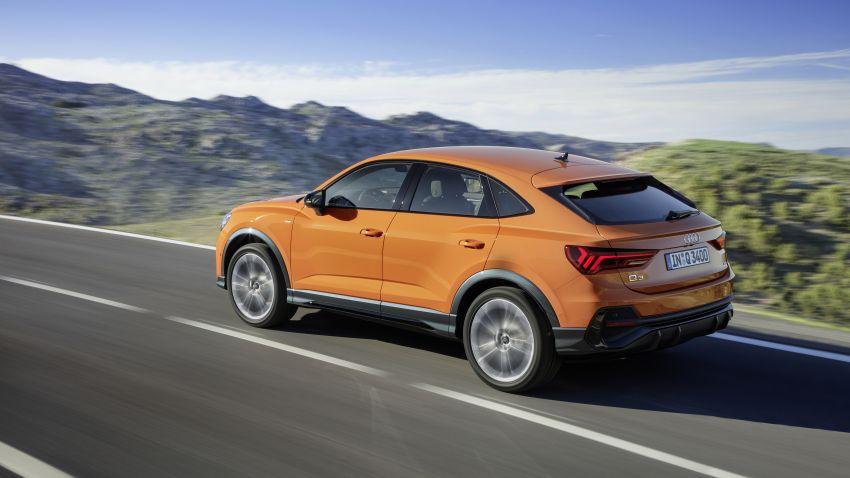"Audi Q3 Sportback diperkenalkan – pilihan bagi SUV ""coupe"", 2.0L pengecas turbo janaan petrol dan diesel Image #992084"