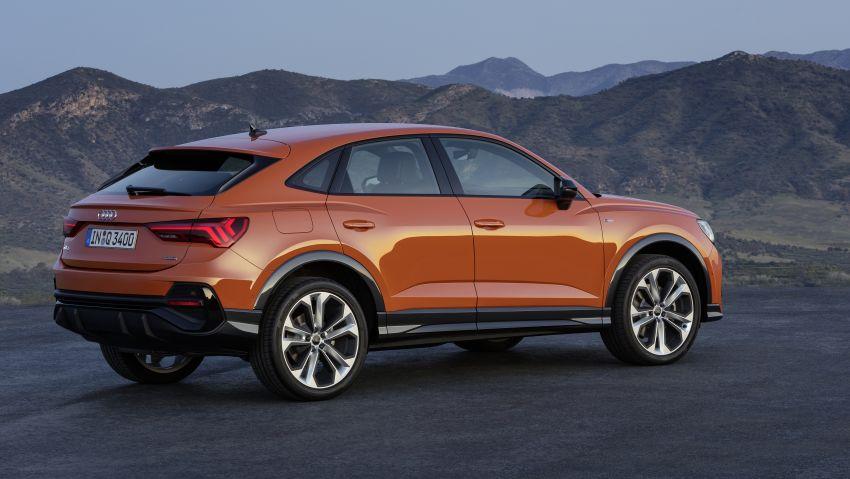 "Audi Q3 Sportback diperkenalkan – pilihan bagi SUV ""coupe"", 2.0L pengecas turbo janaan petrol dan diesel Image #992086"