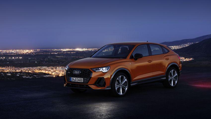 "Audi Q3 Sportback diperkenalkan – pilihan bagi SUV ""coupe"", 2.0L pengecas turbo janaan petrol dan diesel Image #992087"
