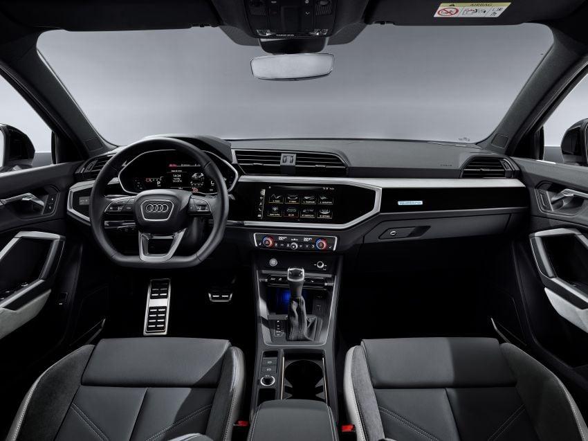 "Audi Q3 Sportback diperkenalkan – pilihan bagi SUV ""coupe"", 2.0L pengecas turbo janaan petrol dan diesel Image #992088"