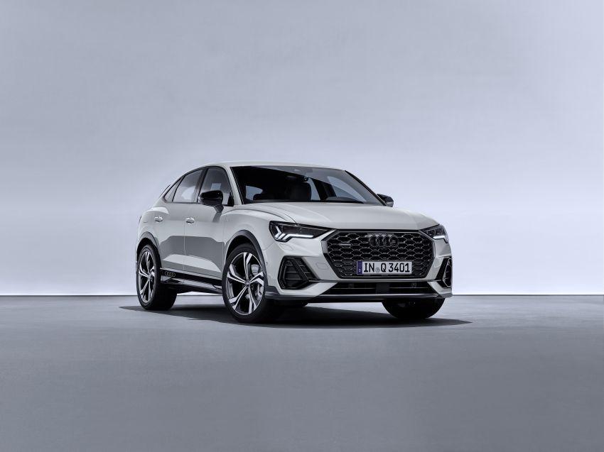 "Audi Q3 Sportback diperkenalkan – pilihan bagi SUV ""coupe"", 2.0L pengecas turbo janaan petrol dan diesel Image #992089"