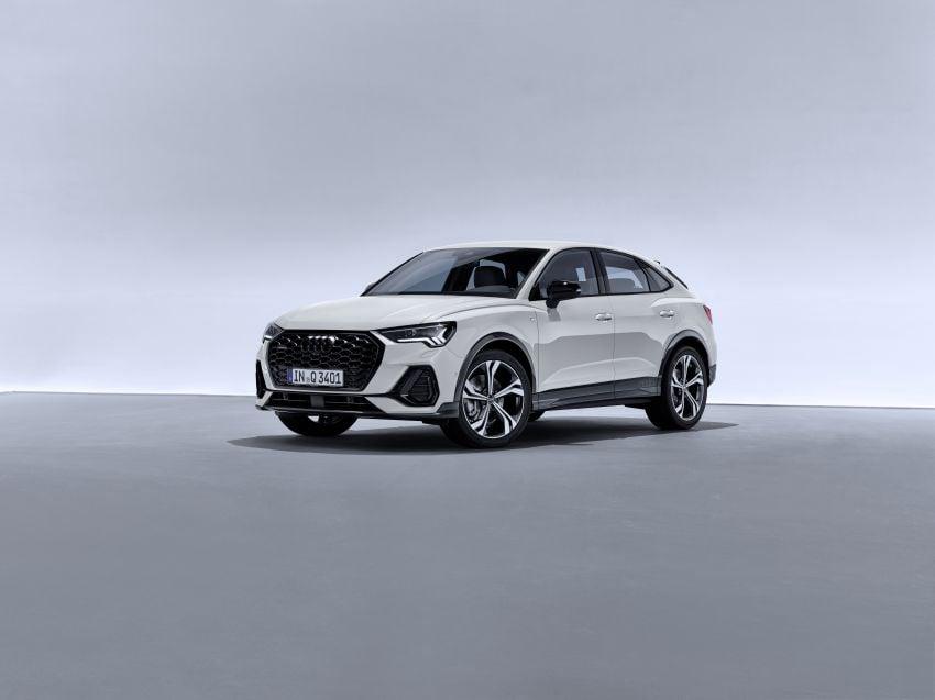 "Audi Q3 Sportback diperkenalkan – pilihan bagi SUV ""coupe"", 2.0L pengecas turbo janaan petrol dan diesel Image #992091"
