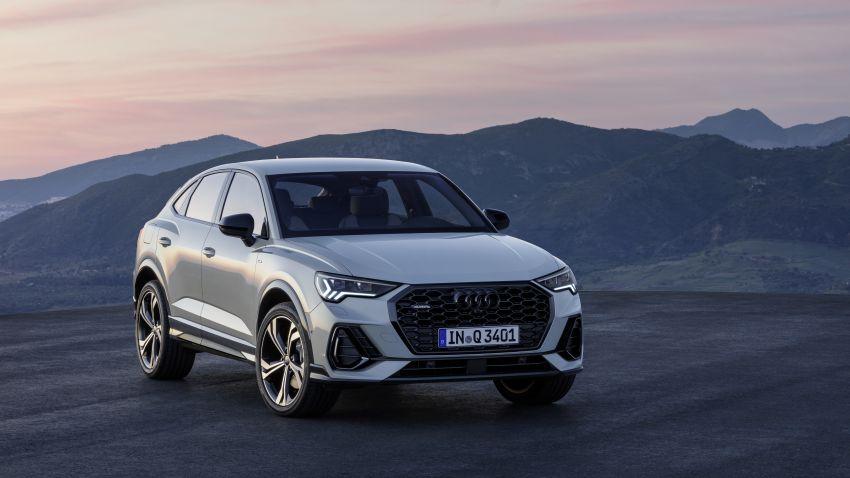 "Audi Q3 Sportback diperkenalkan – pilihan bagi SUV ""coupe"", 2.0L pengecas turbo janaan petrol dan diesel Image #992093"