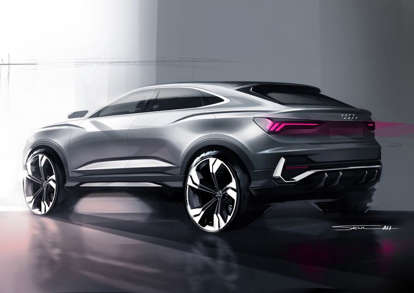 "Audi Q3 Sportback diperkenalkan – pilihan bagi SUV ""coupe"", 2.0L pengecas turbo janaan petrol dan diesel Image #992096"