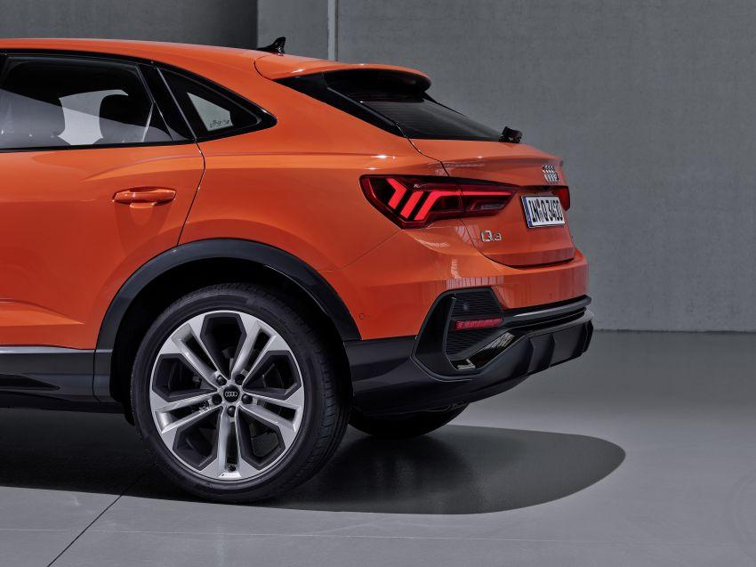 "Audi Q3 Sportback diperkenalkan – pilihan bagi SUV ""coupe"", 2.0L pengecas turbo janaan petrol dan diesel Image #992037"