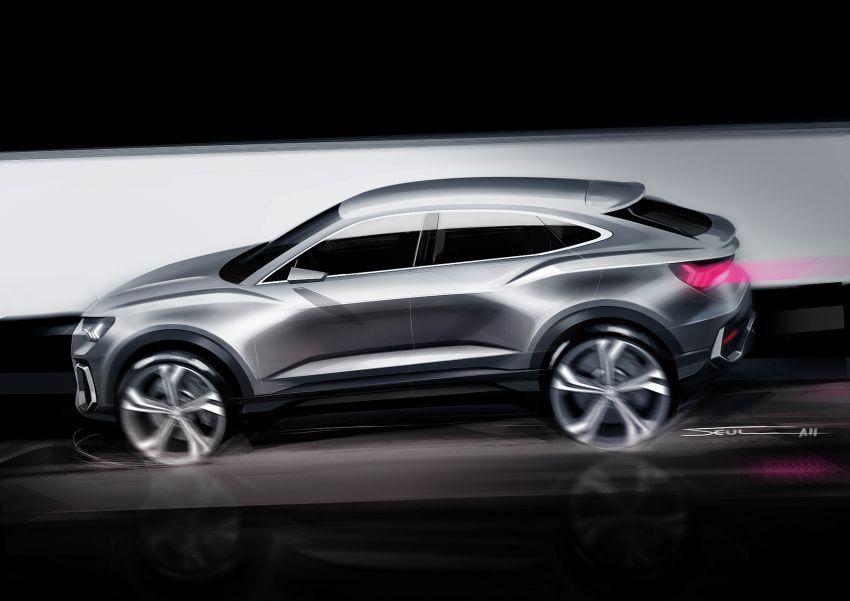 "Audi Q3 Sportback diperkenalkan – pilihan bagi SUV ""coupe"", 2.0L pengecas turbo janaan petrol dan diesel Image #992097"