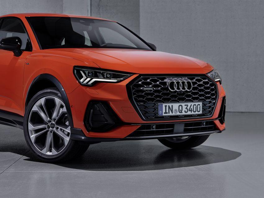 "Audi Q3 Sportback diperkenalkan – pilihan bagi SUV ""coupe"", 2.0L pengecas turbo janaan petrol dan diesel Image #992038"