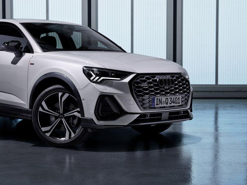 "Audi Q3 Sportback diperkenalkan – pilihan bagi SUV ""coupe"", 2.0L pengecas turbo janaan petrol dan diesel Image #992040"