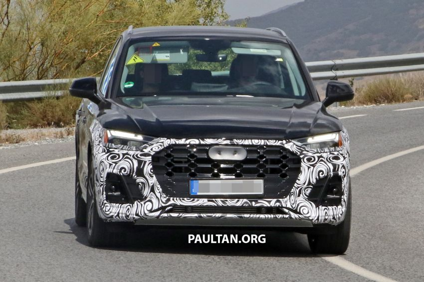 SPYSHOTS: 2020 Audi Q5 facelift caught with new face Image #993253