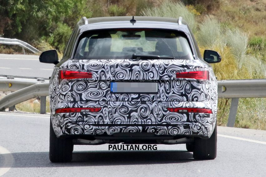 SPYSHOTS: 2020 Audi Q5 facelift caught with new face Image #993262
