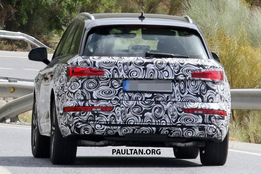 SPYSHOTS: 2020 Audi Q5 facelift caught with new face Image #993263