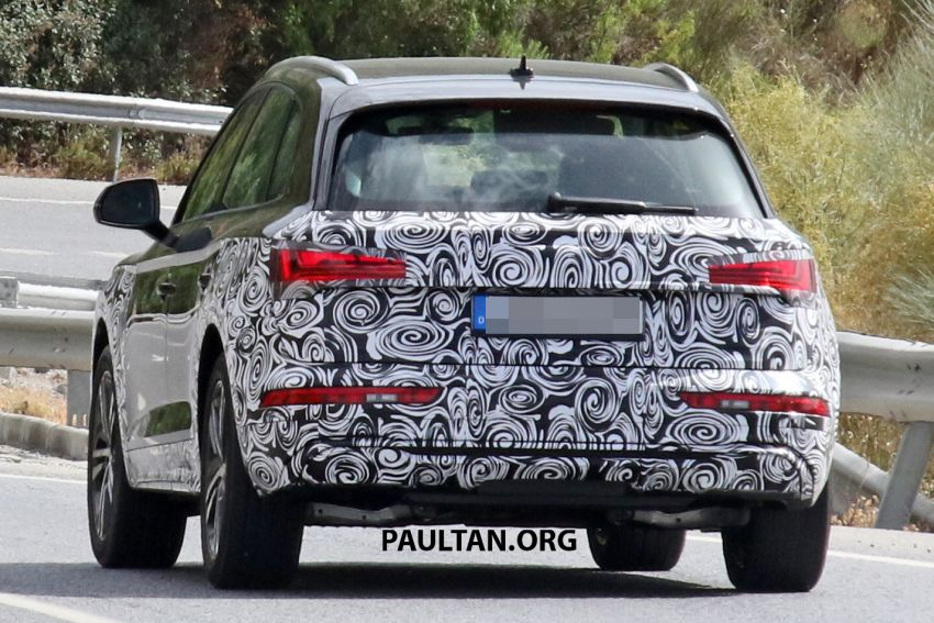 SPYSHOTS: 2020 Audi Q5 facelift caught with new face Image #993264