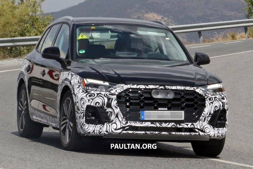 SPYSHOTS: 2020 Audi Q5 facelift caught with new face Image #993254
