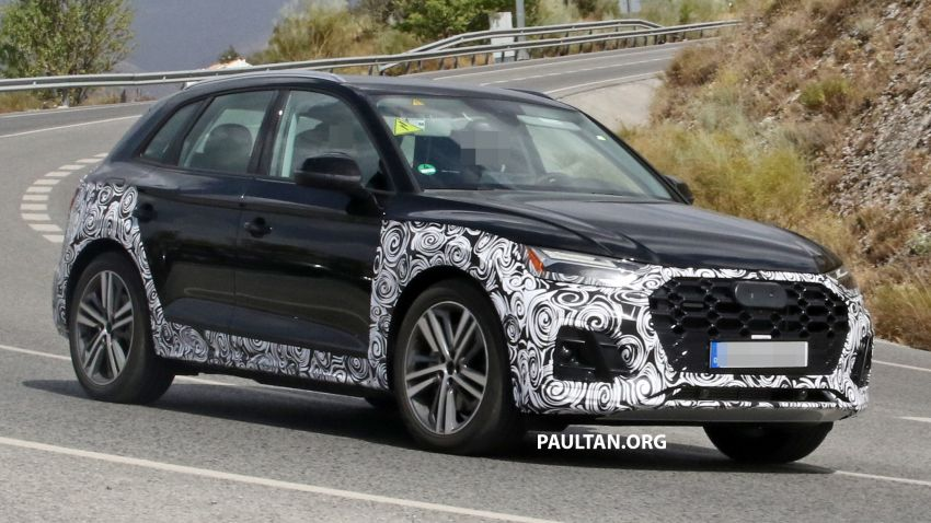 SPYSHOTS: 2020 Audi Q5 facelift caught with new face Image #993255