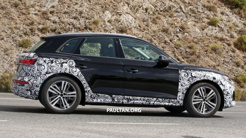 SPYSHOTS: 2020 Audi Q5 facelift caught with new face Image #993257