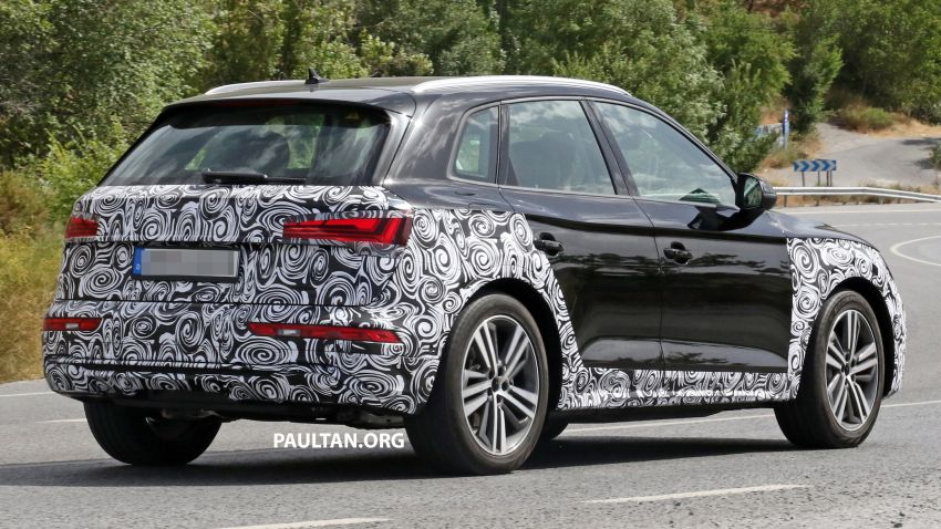 SPYSHOTS: 2020 Audi Q5 facelift caught with new face Image #993259