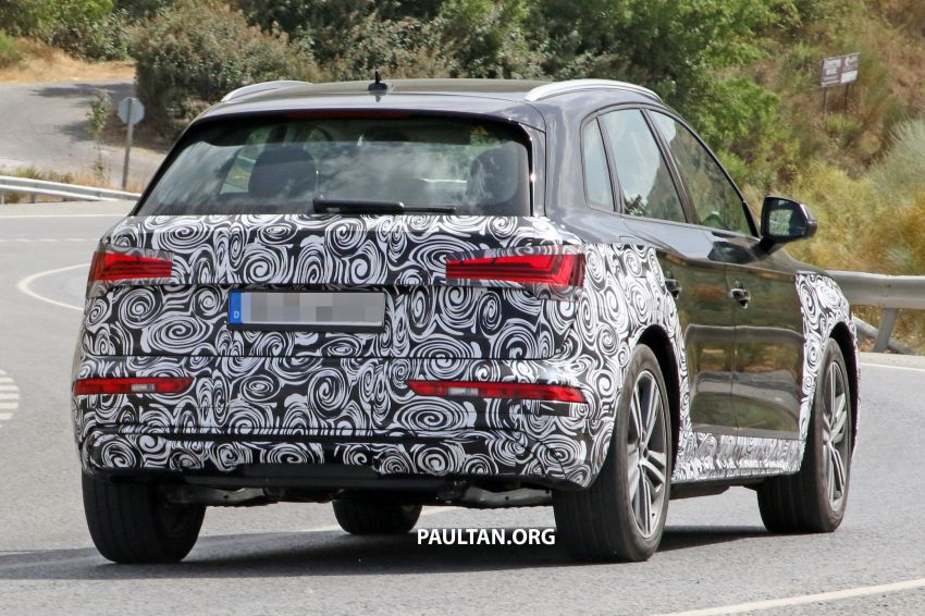 SPYSHOTS: 2020 Audi Q5 facelift caught with new face Image #993261