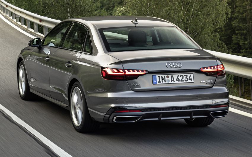 gallery: b9 audi a4 facelift - coming to m'sia 2020 paul