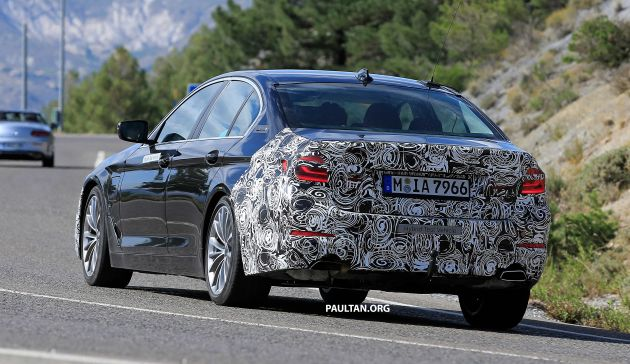 Spyshots G30 Bmw 5 Series Lci Sedan Spotted