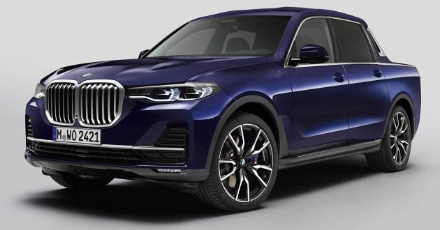 Bmw X7 Pick Up Concept Revealed A Special One Off