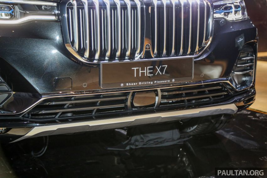 New BMW X7 launched in Malaysia – xDrive40i Design Pure Excellence, 7-seater flagship SUV for RM889k Image #984169