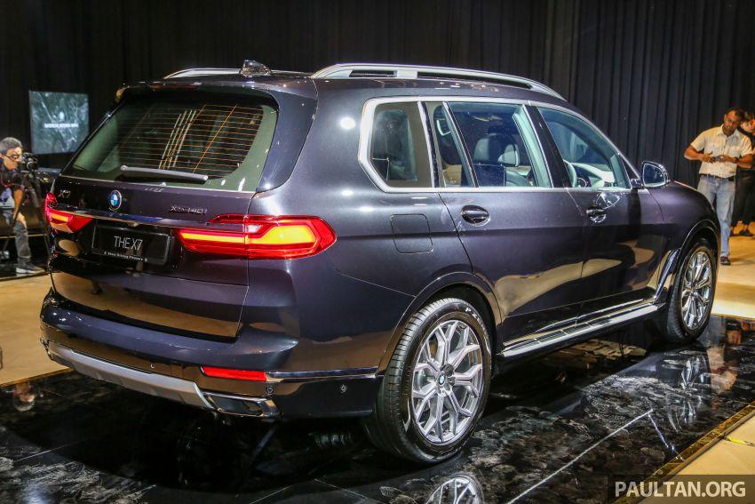 BMW X7 G07 kini dilancarkan di Malaysia – xDrive40i, 7-tempat duduk, harga anggaran dari RM888,800 Image #984128